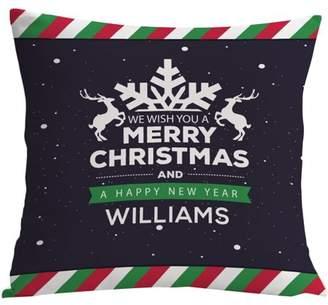 MonogramOnline Custom Gifts Santa Reindeer Pillowcase