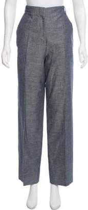 Les Copains High-Rise Wide-Leg Pants