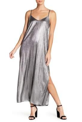 Show Me Your Mumu Angie Metallic Slip Dress
