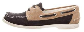 Chanel Medallion Boat Shoes