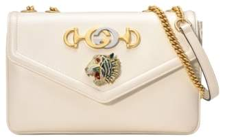 Gucci Medium Rajah Leather Shoulder Bag