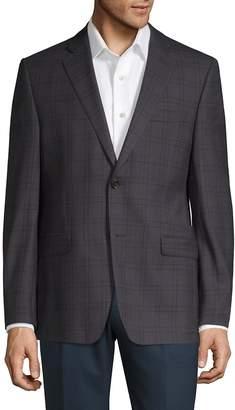 Lauren Ralph Lauren Men's Checkered Wool Slim-Fit Suit Jacket