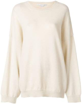 Stella McCartney oversized crew neck sweater