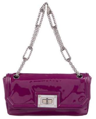 Chanel Patent Reissue Chain Shoulder Bag Violet Patent Reissue Chain Shoulder Bag