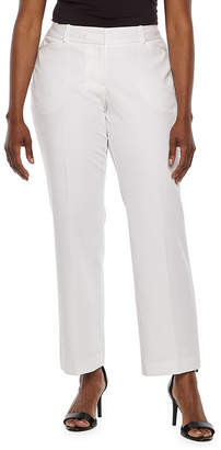 a7471b564bc WORTHINGTON Worthington Womens Curvy Fit Perfect Trouser