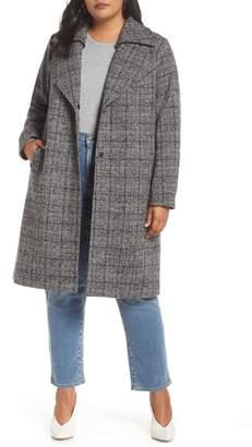 Halogen Double Fold Collar Coat