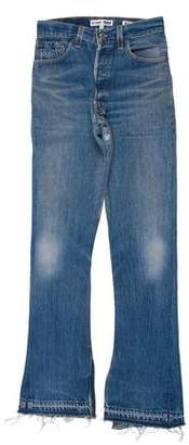 RE/DONE Mid-Rise Flared Jeans