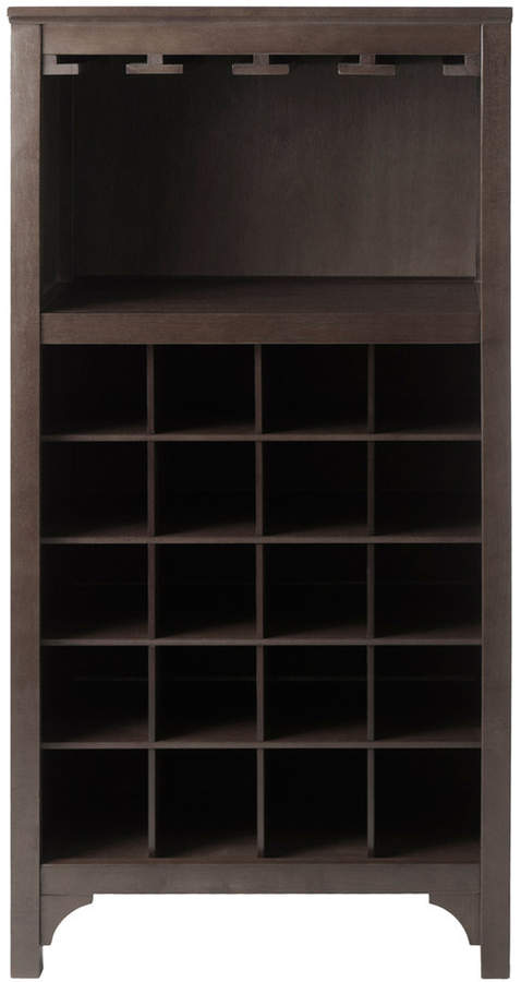 Winsome Ancona Modular 20-Bottle Wine Cabinet