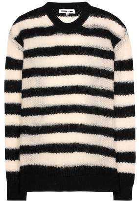 McQ Wool, mohair and cashmere blend sweater