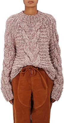 Ulla Johnson Women's Francisca Baby Alpaca Sweater $495 thestylecure.com