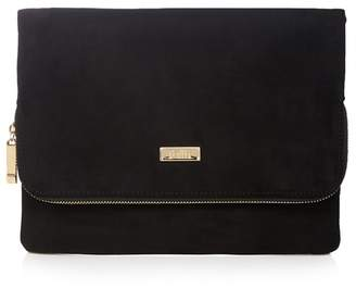 Faith Black 'Pring' Clutch Bag