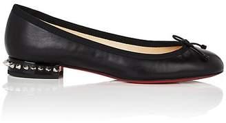 Christian Louboutin Women's La Massine Nappa Leather Flats