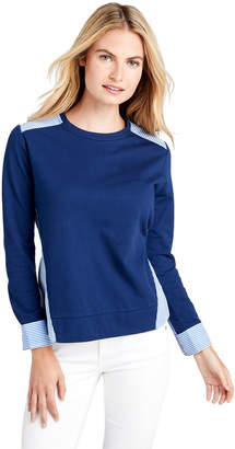 Vineyard Vines Mixed Media Knit Top