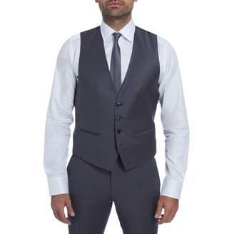Grey Wilson Wool Waistcoat