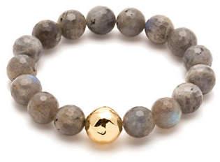Gorjana Power Gemstones Rose Quartz Love Beaded Bracelet