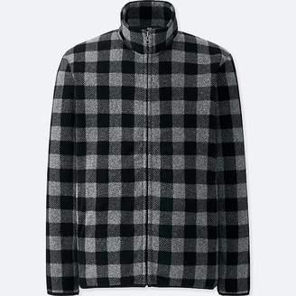 Uniqlo Men's Printed Fleece Long-sleeve Full-zip Jacket