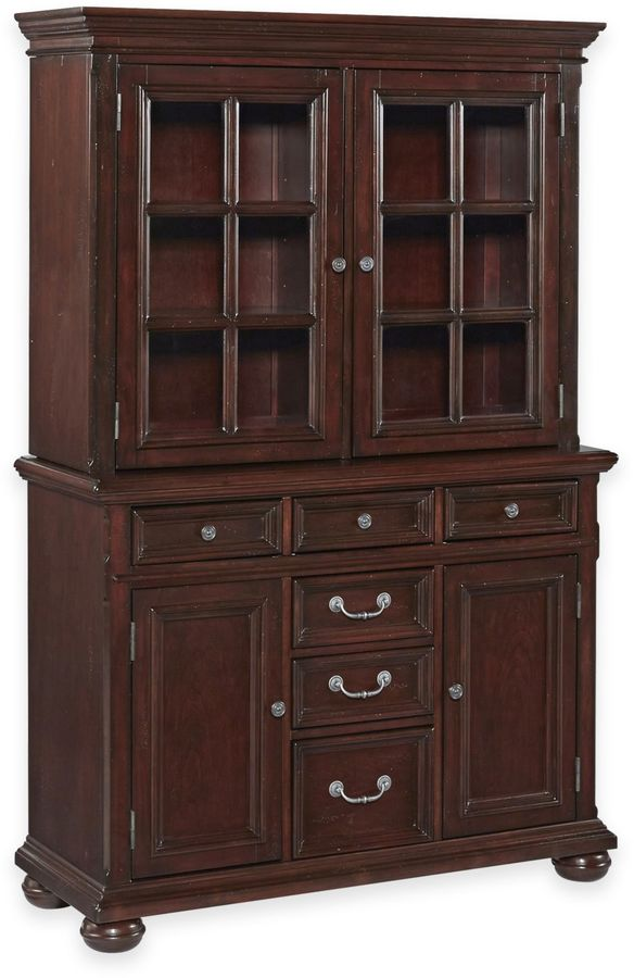 Bed Bath & BeyondHome Styles Colonial Classic Buffet and Hutch Set in Cherry