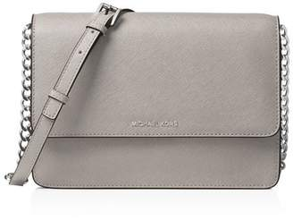 MICHAEL Michael Kors Large Gusseted Leather Crossbody