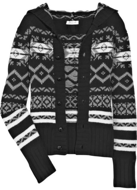 Paul & Joe Fair Isle wool-blend cardigan