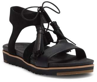 e578a546271 UGG Brown Leather Women's Sandals - ShopStyle