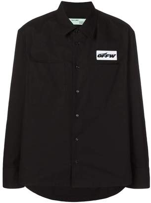 Off-White printed shirt