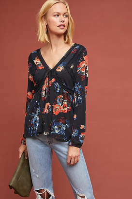 Maeve Riley Floral Top