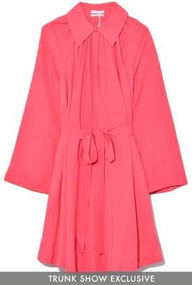 Co Collared Swing Dress in Azalea TS