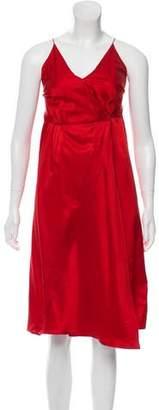 Masscob Satin Mini Dress