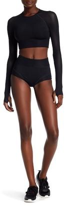 Ivy Park Mesh Trim Dance Short $36 thestylecure.com