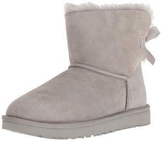 UGG Women's W Mini Bailey Bow II Fashion Boot 5 M US