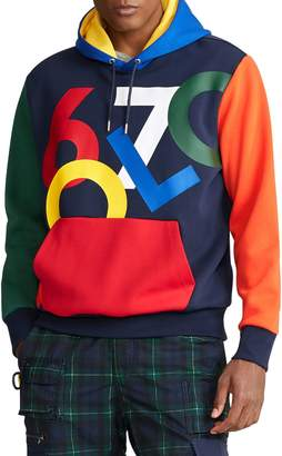 Polo Ralph Lauren Double-Knit Graphic Hoodie