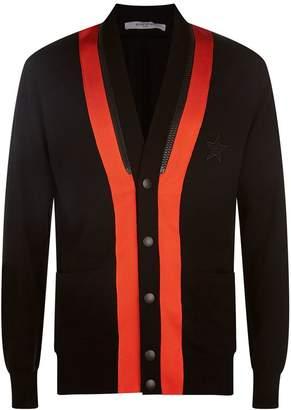 Givenchy Zipped Knit Cardigan