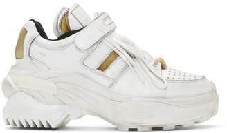 Maison Margiela White Retro Fit Chunky Sneakers
