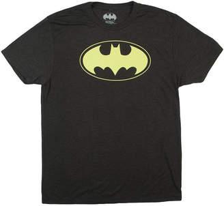 Novelty T-Shirts DC Batman Logo Graphic Tee