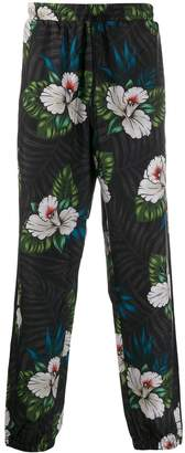 adidas Winter Floral track trousers