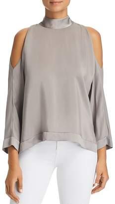 a771781617731 Women s Cold Shoulder Silk Tops - ShopStyle
