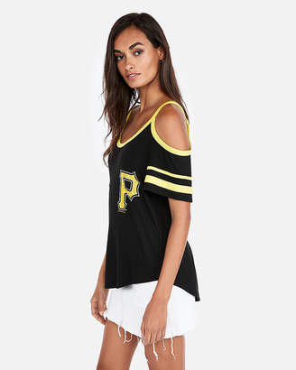 Express Pittsburgh Pirates Cold Shoulder Tee