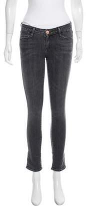Earnest Sewn Low-Rise Skinny Jeans