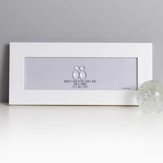 Daisy Maison Personalised Wedding Glass People