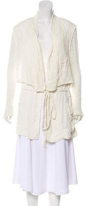 Raquel Allegra Linen Short Coat w/ Tags