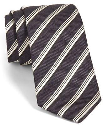 Men's Boss Stripe Silk Tie $115 thestylecure.com