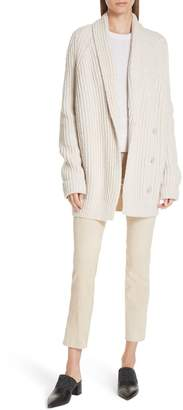 Vince Wool Blend Knit Cardigan
