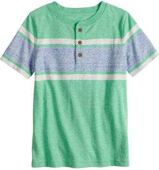 Sonoma Goods For Life Boys 4-7x SONOMA Goods for Life Striped Henley Top