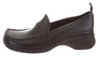 Miu Miu Rubber Square-Toe Loafers