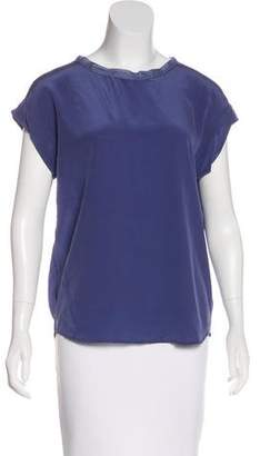 3.1 Phillip Lim Silk Short Sleeve Top