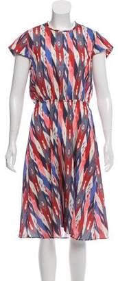 Etoile Isabel Marant Print Midi Dress