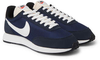 Nike Air Tailwind 79 Mesh, Suede and Leather Sneakers - Men - Blue