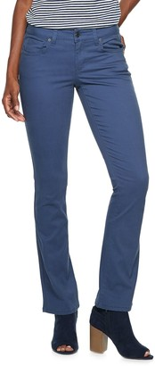 Sonoma Goods For Life Women's SONOMA Goods for Life Midrise Sateen Bootcut Pants