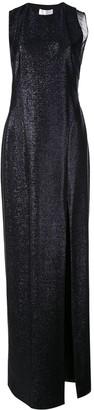 Galvan metallic maxi dress