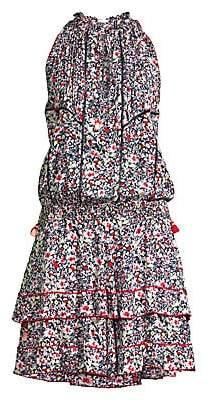 Poupette St Barth Women's Amora Ruffle-Trimmed Dress